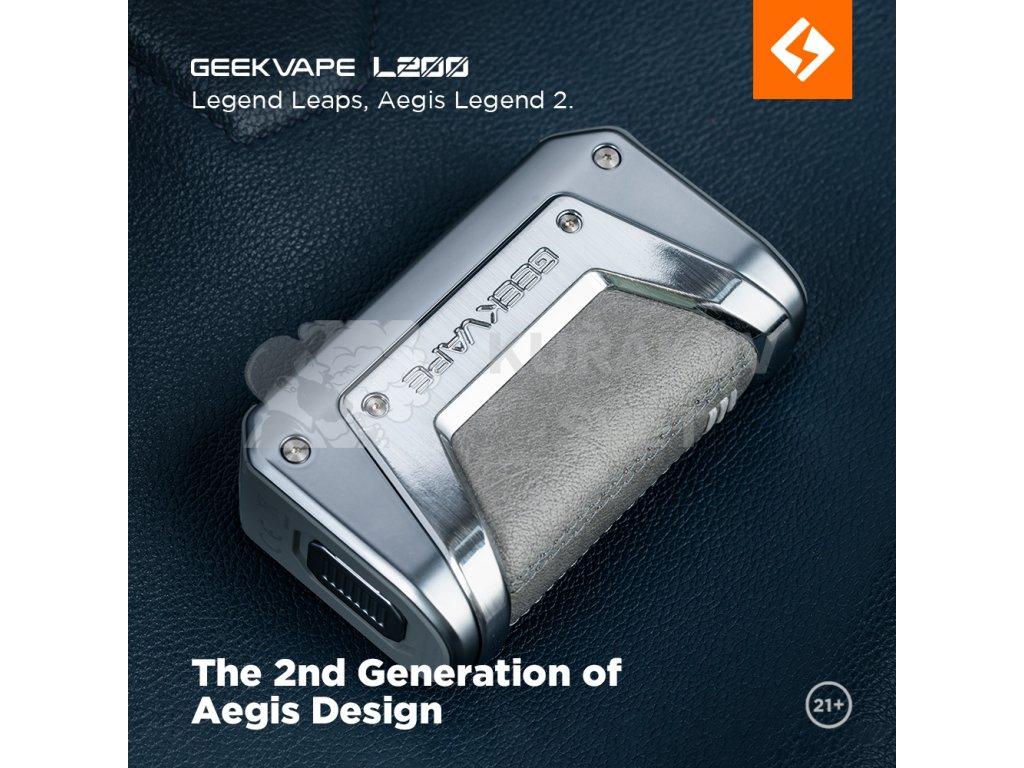 geekvape aegis legend 2 200w grip full kit black