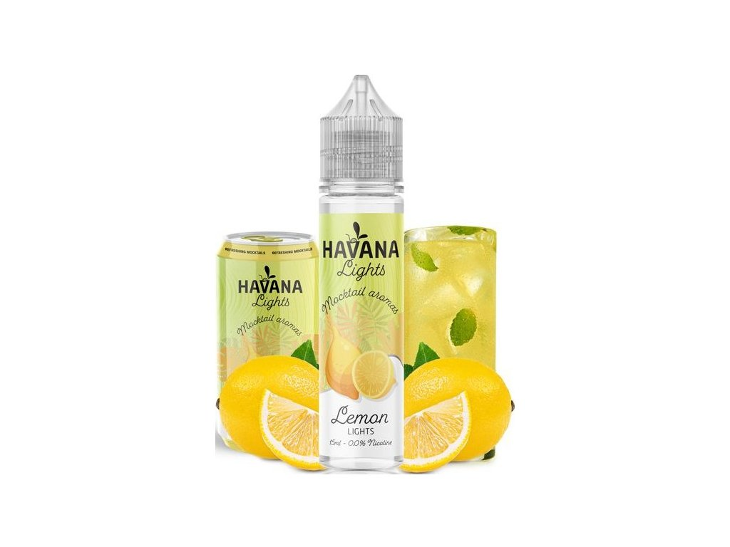 prichut havana lights shake and vape 15ml lemon