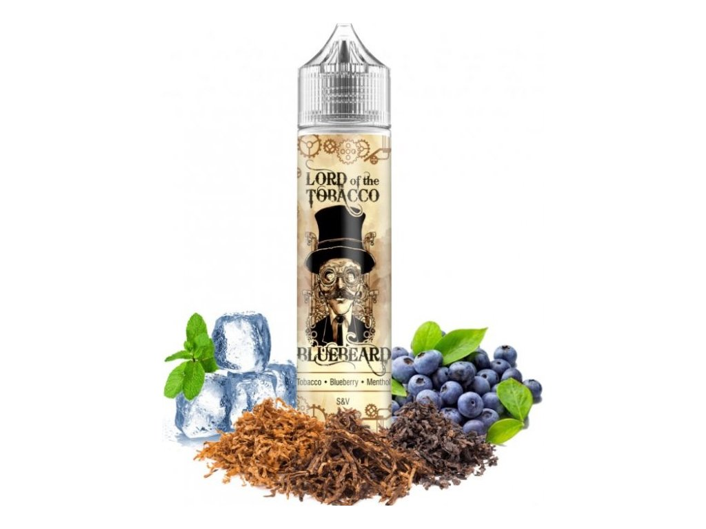 prichut dream flavor lord of the tobacco shake and vape 12ml bluebeard
