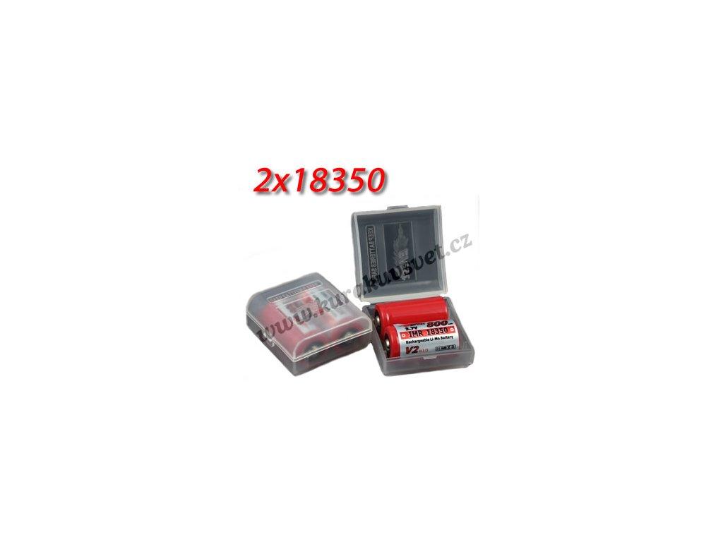 Pouzdro na baterie Efest 18350