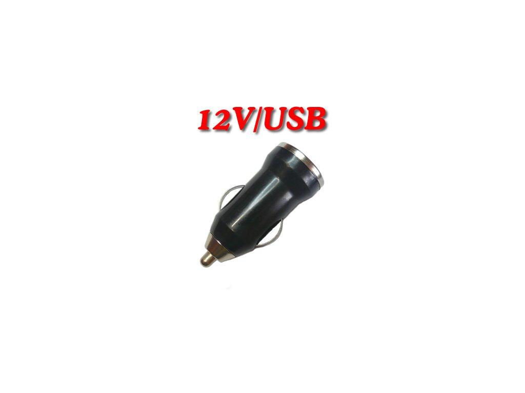 Auto adaptér 12-24V/USB