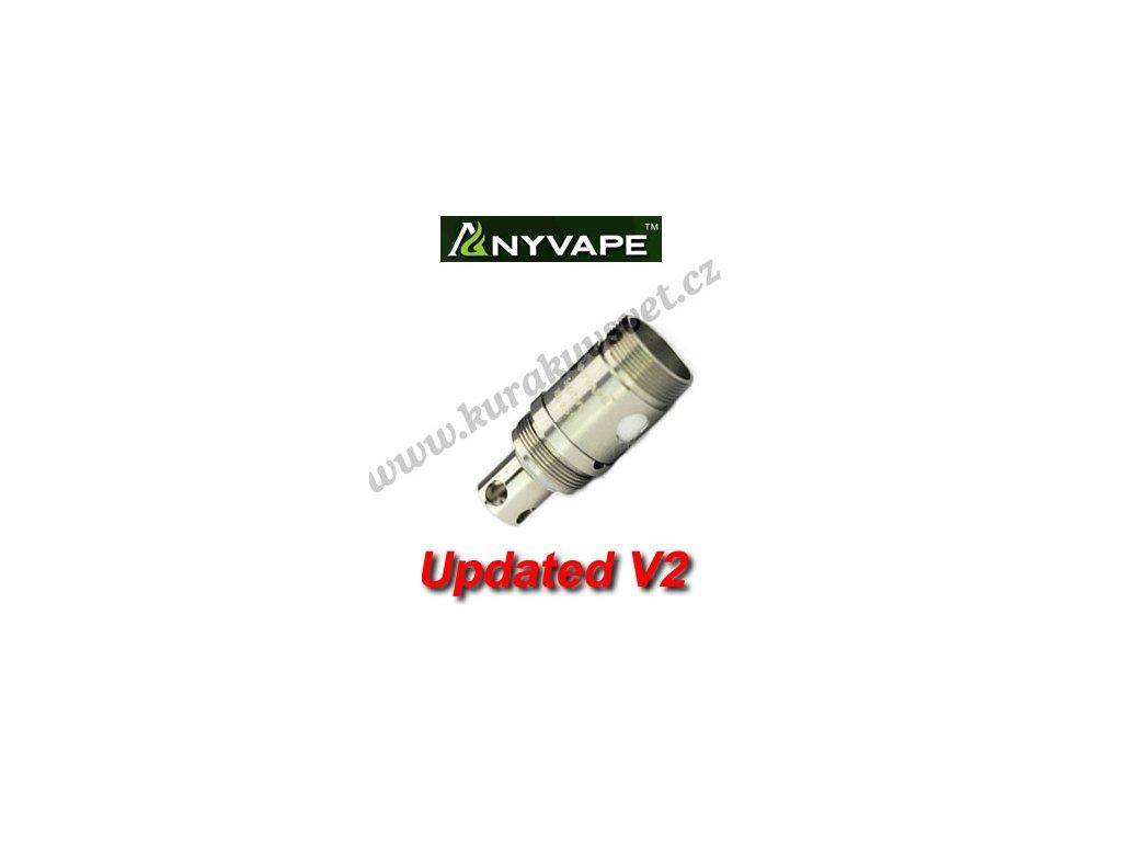 RDA hlava Melo, Anyvape SegaTank, FuryTank, Aspire Atlantis 0,5Ω V2