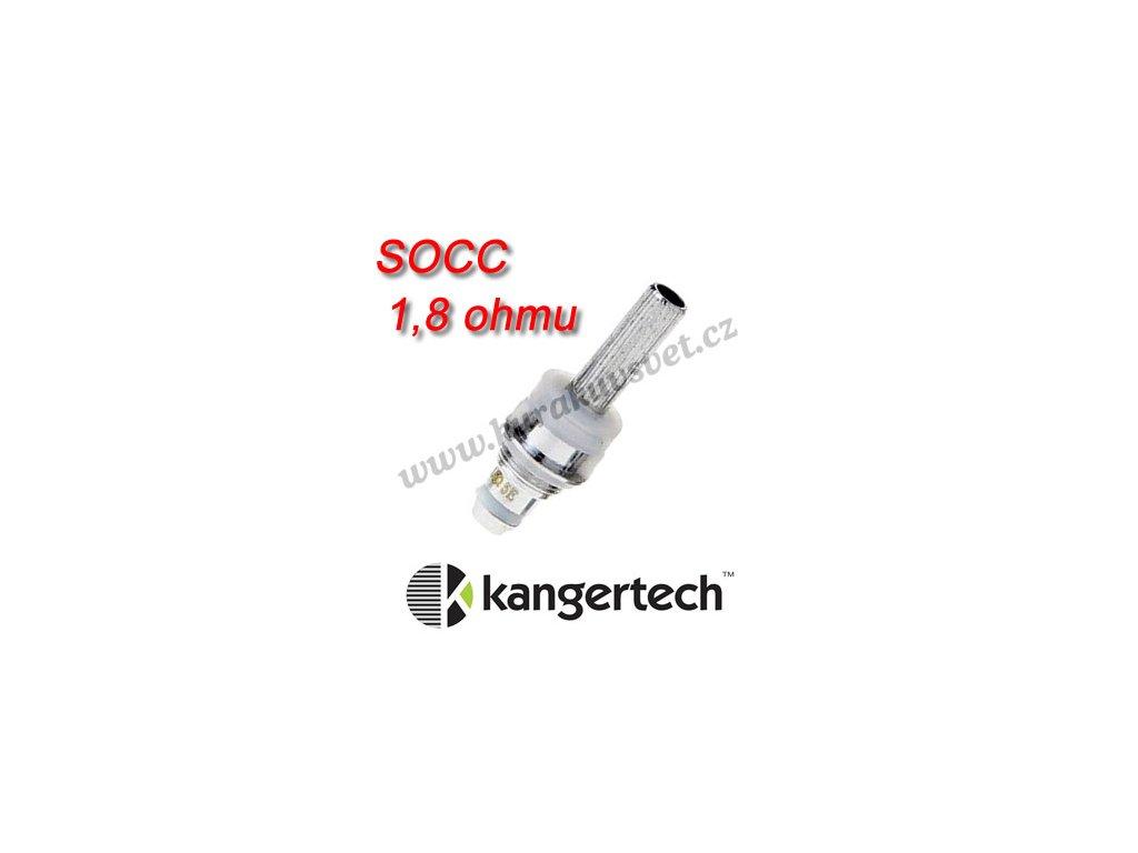 KangerTech SOCC Evod, Protank, Davide žhavící hlava 1,8ohmu