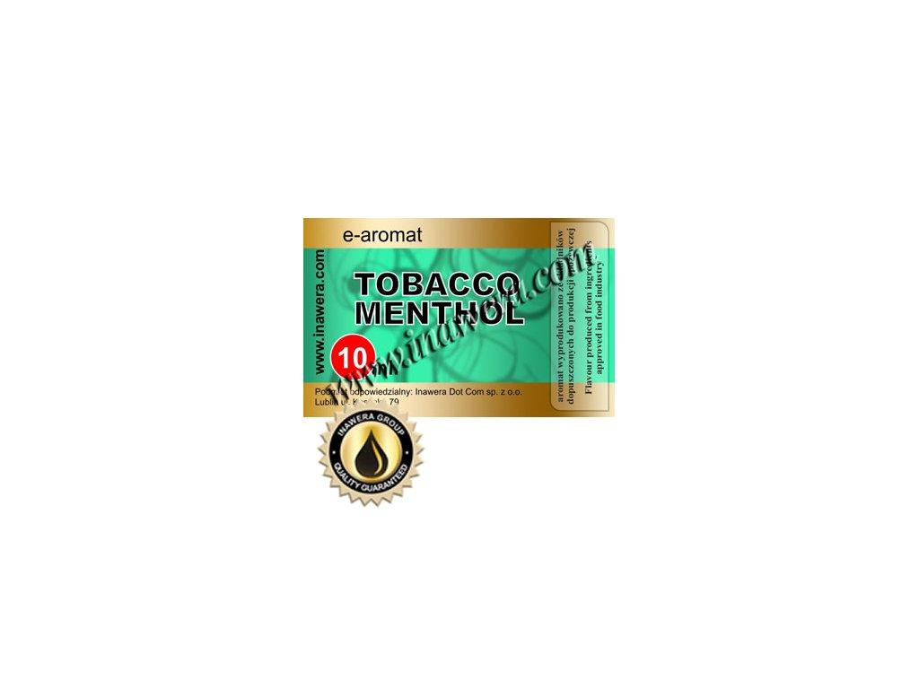 Inawera Tobacco Menthol (Tabák, Mentol) Aroma 10ml