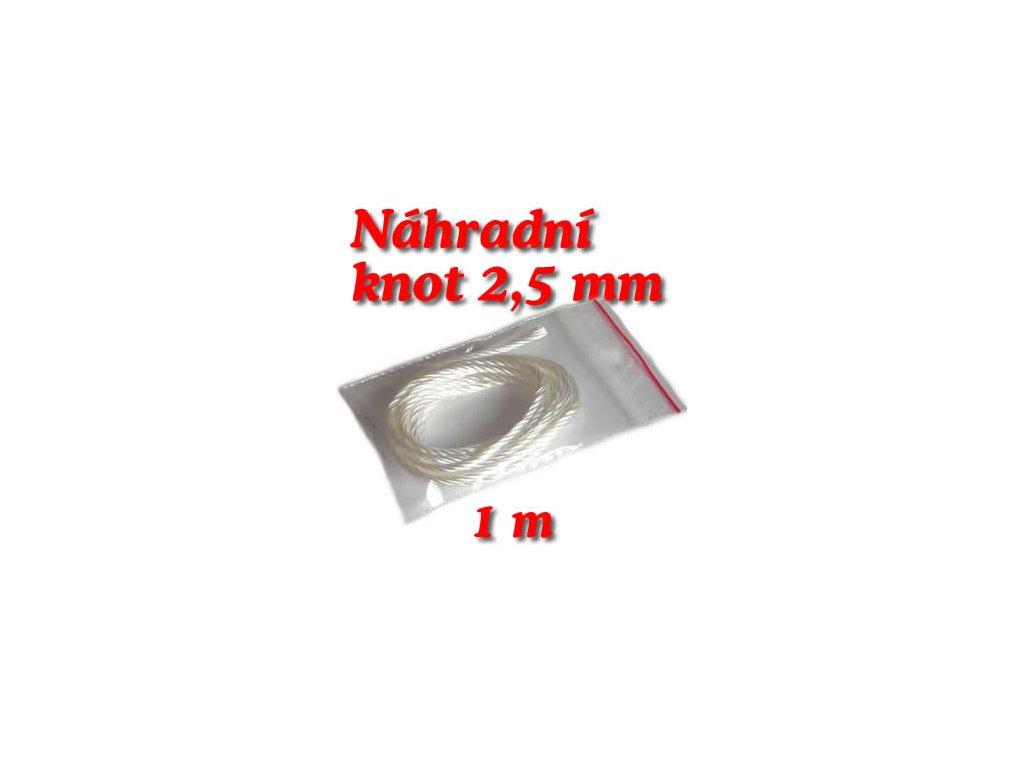 knot 2,5 mm délka 1m