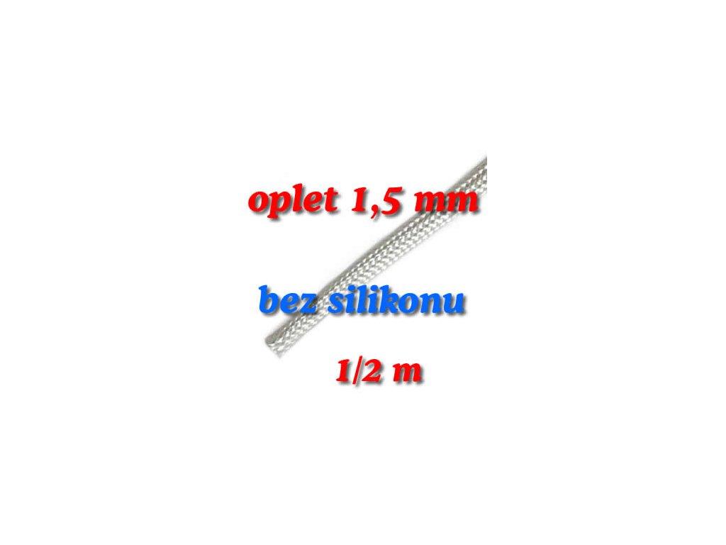 Sklokeramický oplet 1,5 mm