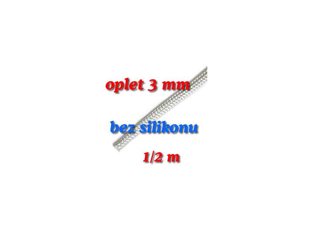Sklokeramický oplet 3 mm