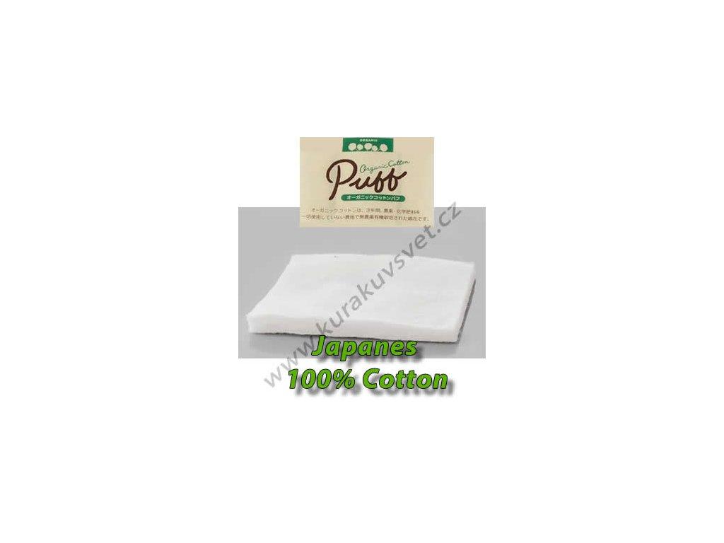 PUFF Japanes 100% Cotton (vata) 3ks