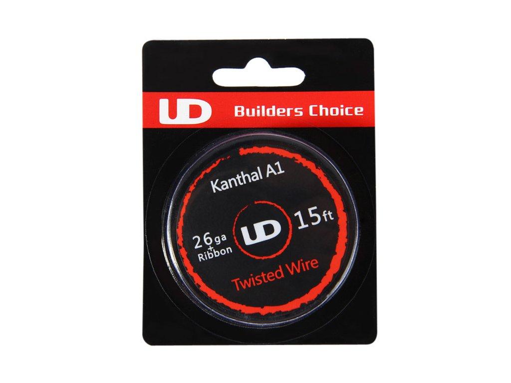 Splétaný drát Kanthal A1 0,4+0,5x0,1mm - 4,6m