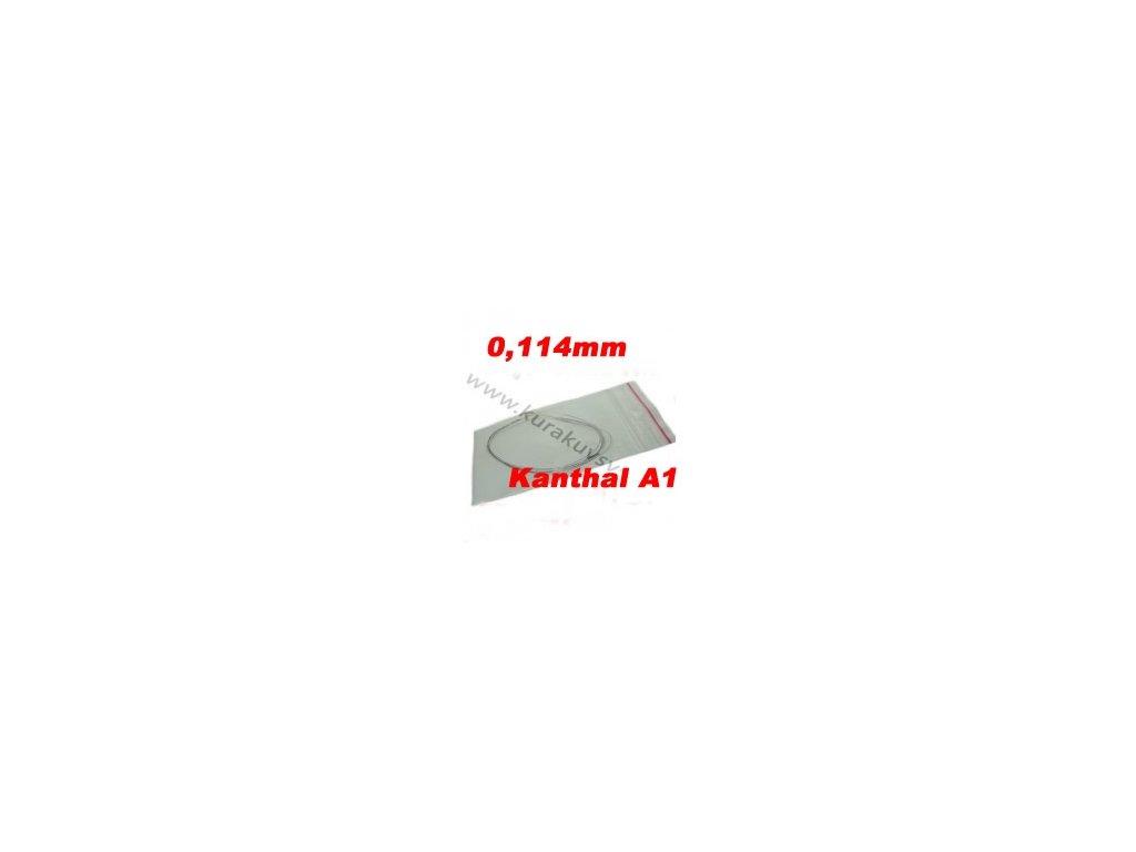 0,114mm odporový drát Kanthal A1 142,1ohmu