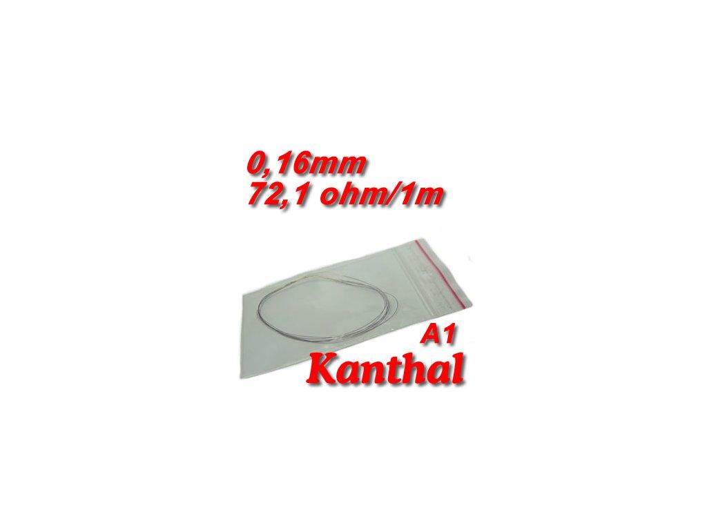 Odporový drát Kanthal A1 0,16mm 72,1ohmu