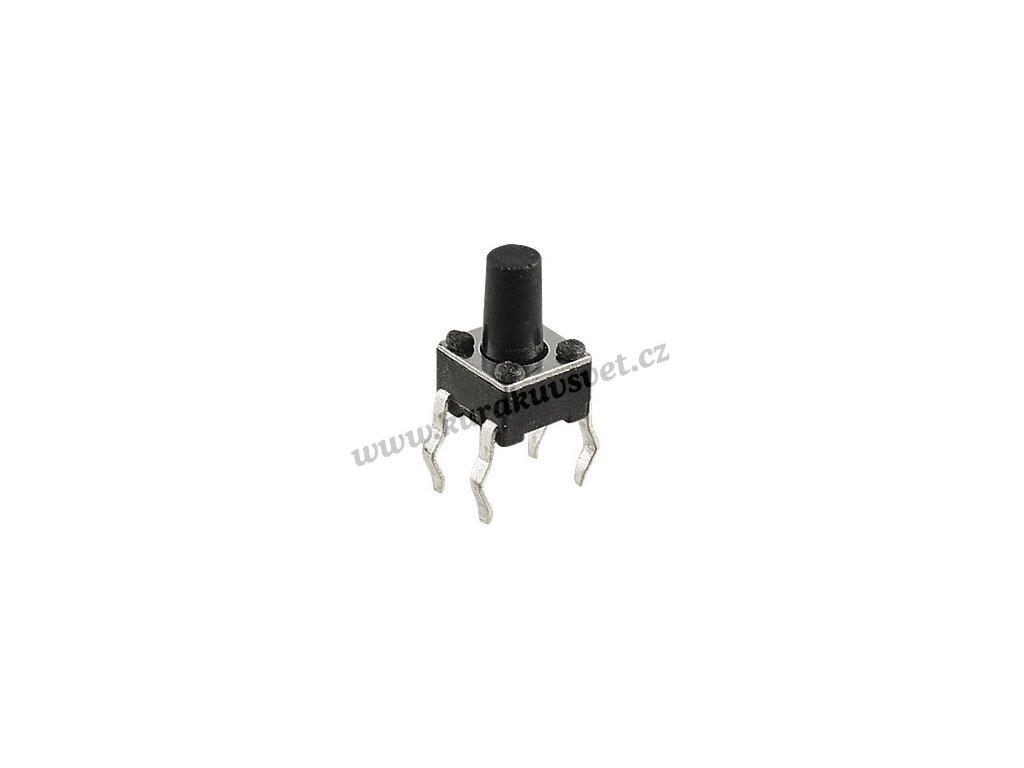 Mikrospínač SMD 4.5 x 4.5 x 7.1mm 4 Pin