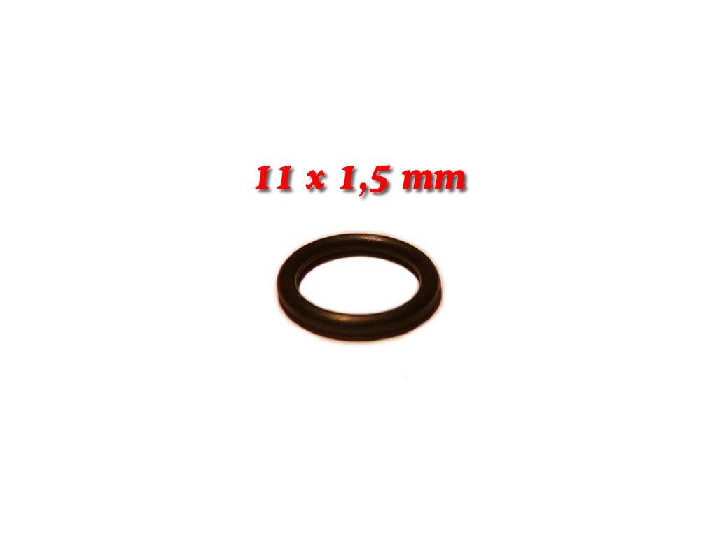 """5 ks """"O"""" kroužek 11x1,5mm"""
