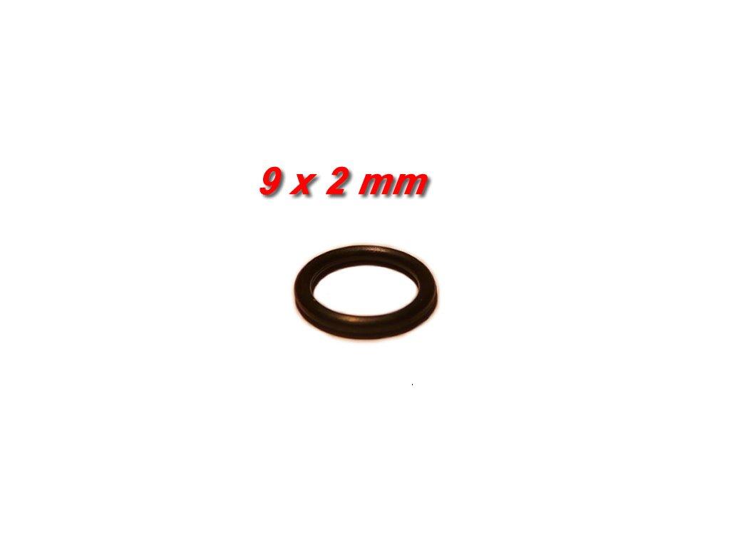 """5 ks """"O"""" kroužek 9x2mm"""