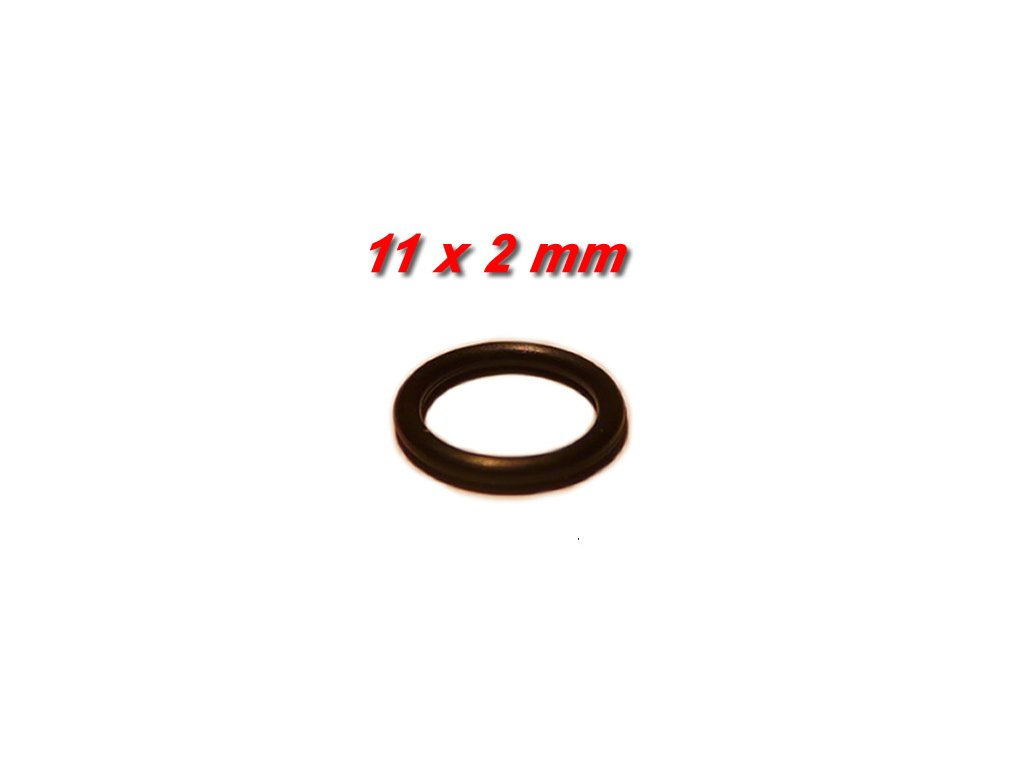 """5 ks """"O"""" kroužek 11x2mm"""