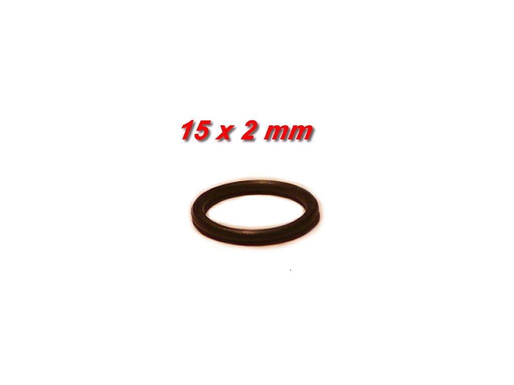 """5 ks """"O"""" kroužek 15x2mm"""