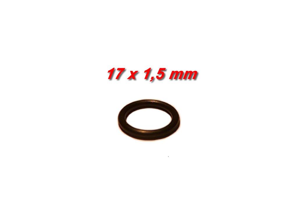 """5 ks """"O"""" kroužek 17x1,5mm"""