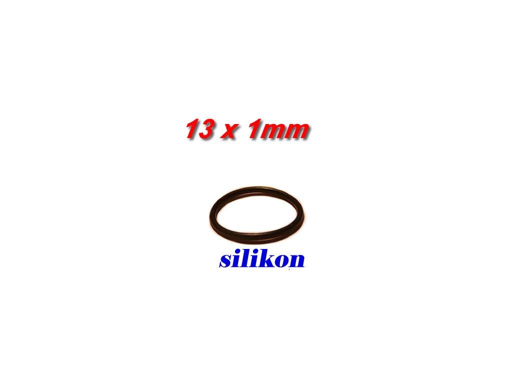 """5 ks """"O"""" kroužek 13x1mm Silikon"""