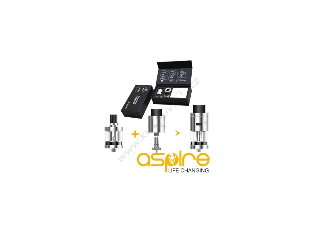 Aspire Quad-Flex Power Pack Black