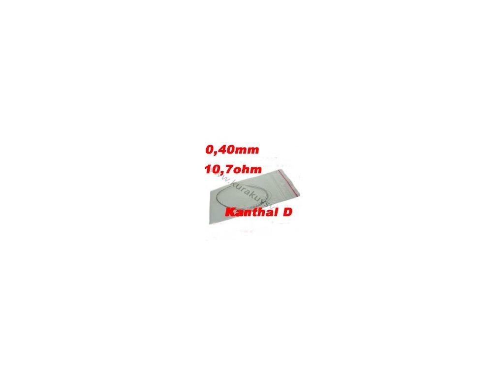 Odporový drát Kanthal D 0,40mm 10,7ohmu