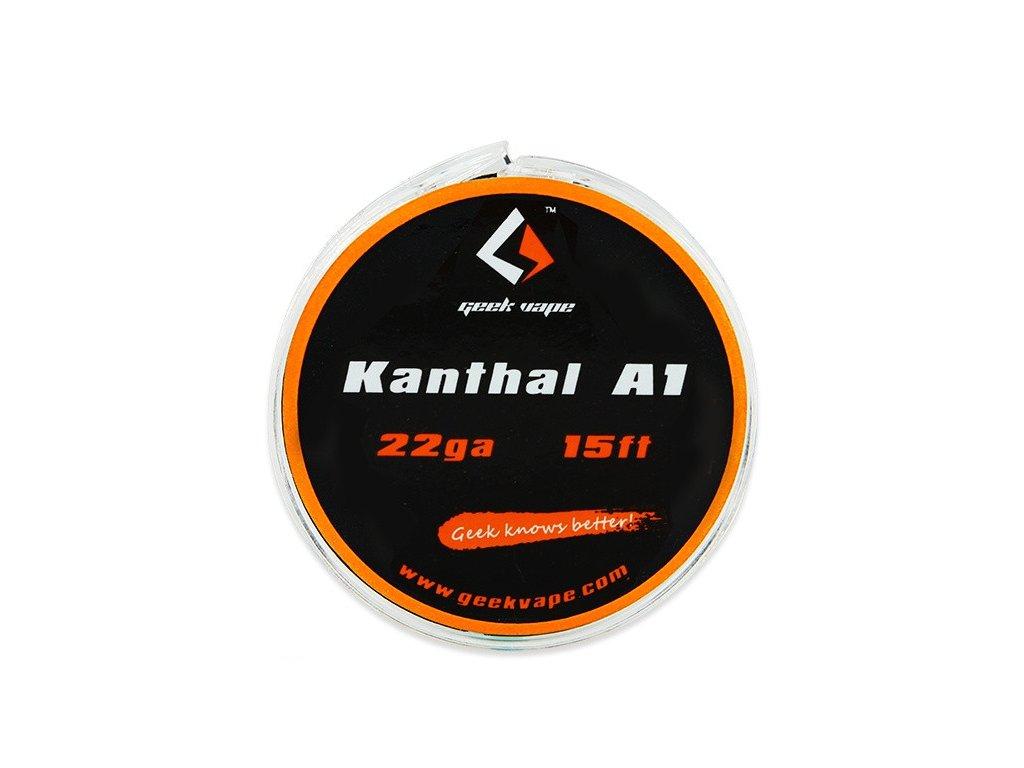 Geek Vape Kanthal A1 odporový drát 0,65mm 22GA 5m