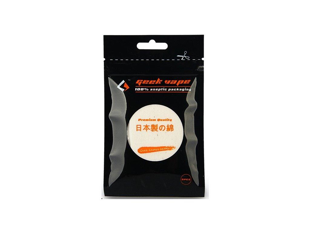 GeekVape Přírodní japonská vata (cotton) Koh Gen Do 6x8cm (5ks)