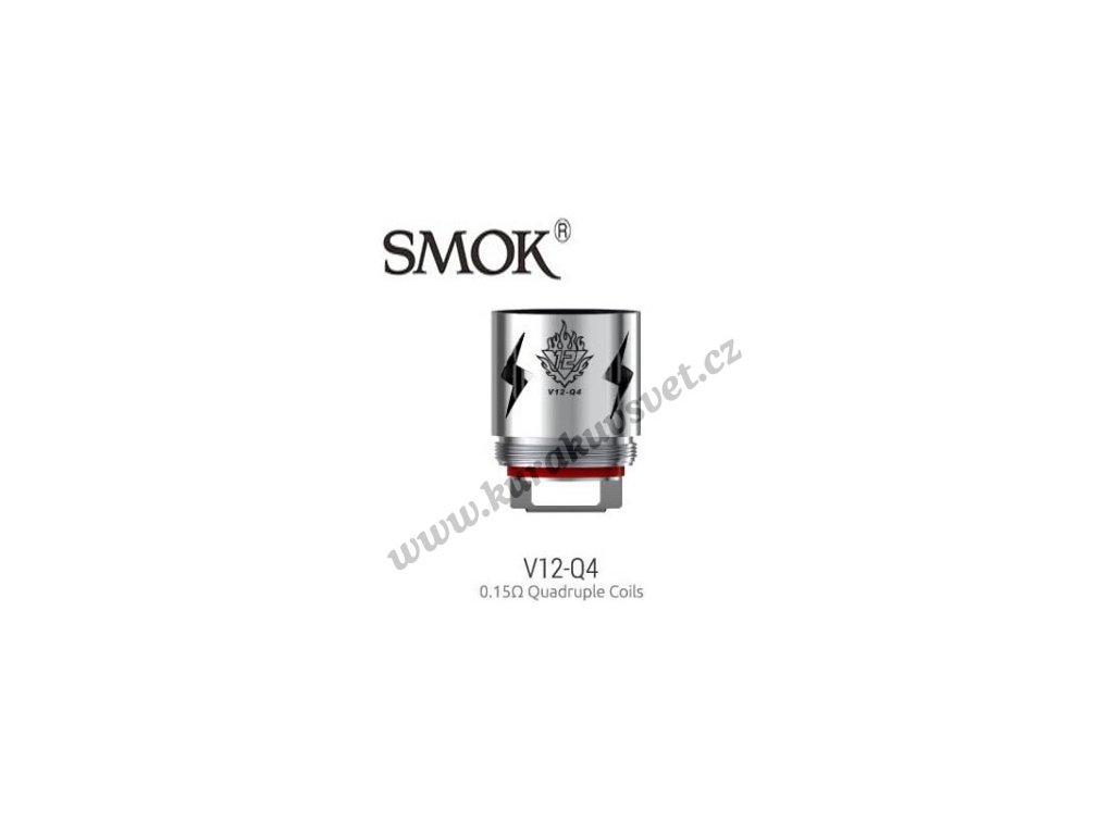 Smok V12-Q4 žhavící hlava 0,15ohmu