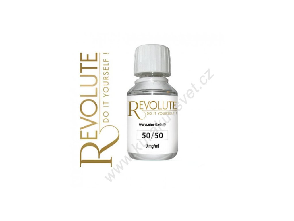 Revolute báze 50PG/50VG 0mg 115ml