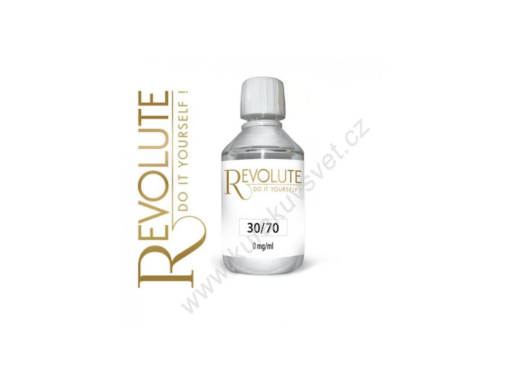 Báze Revolute 30PG/70VG 0mg 275ml