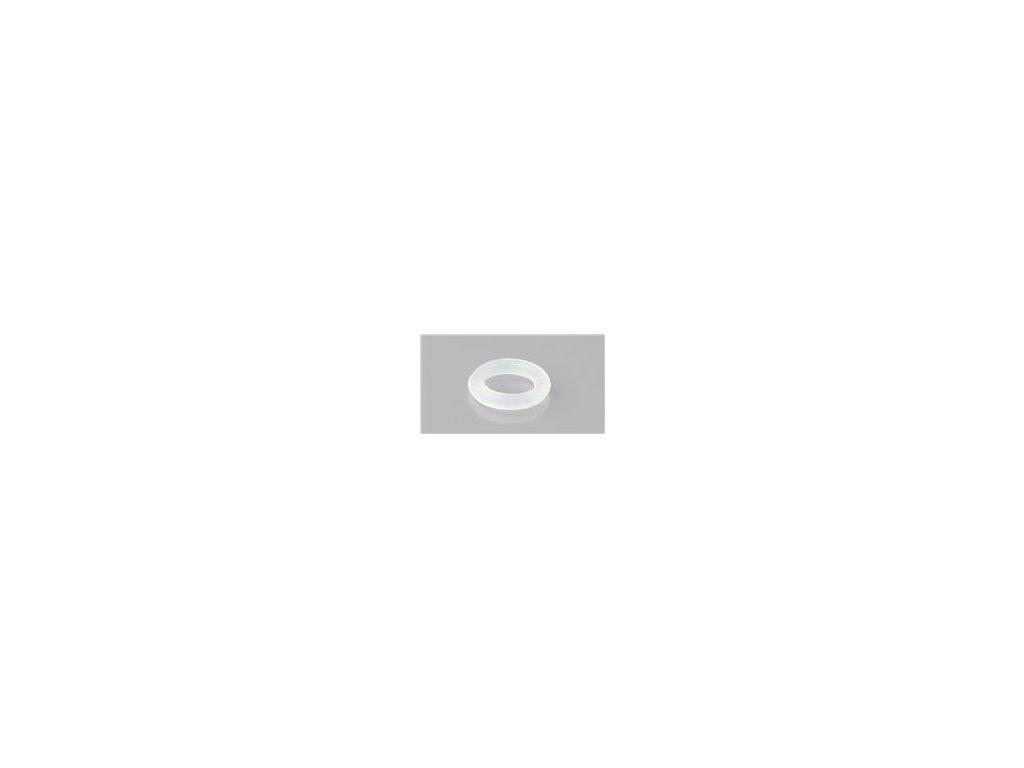 "5 ks ""O"" kroužek silikon transparentní 8x1mm"