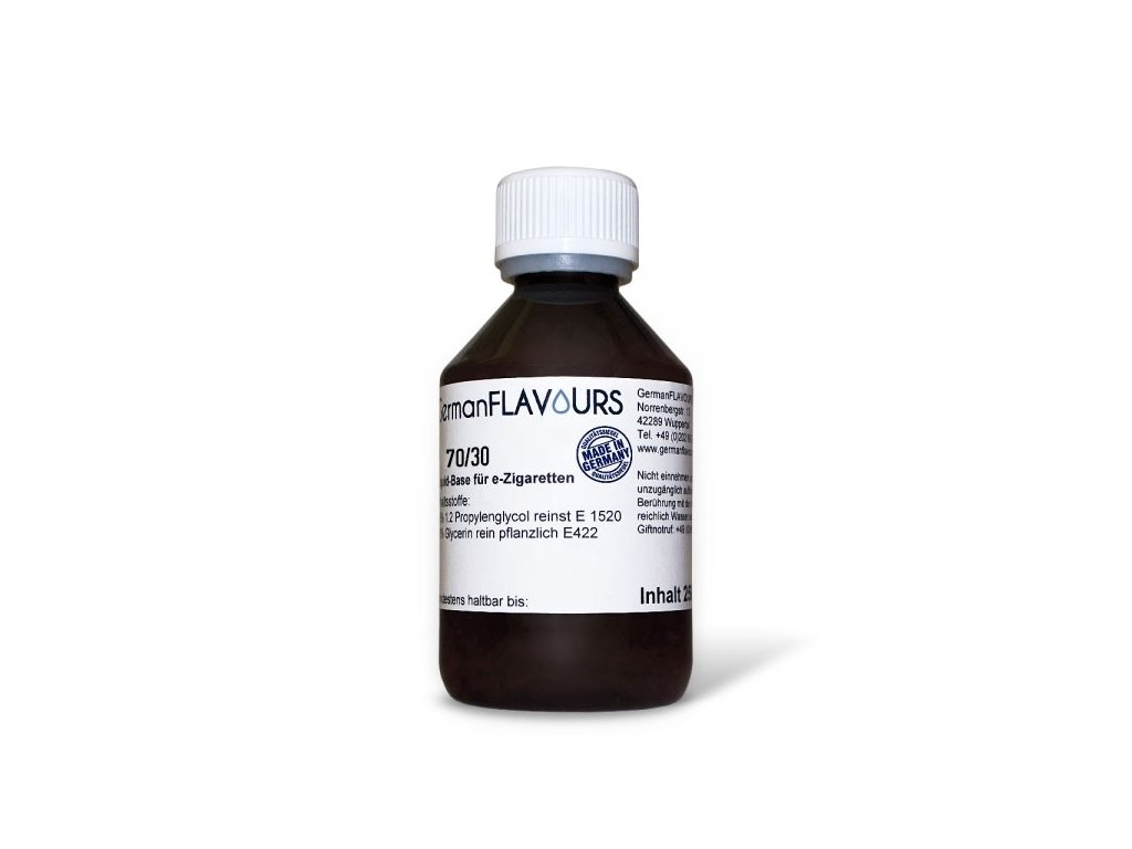 GermanFlavours báze 70/30 (VG 70% / PG 30%) 0mg 100ml