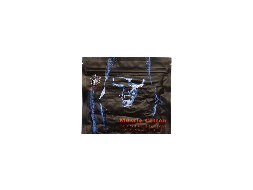 Demon Killer Muscle Cotton (prémiová organická bavlna - vata)