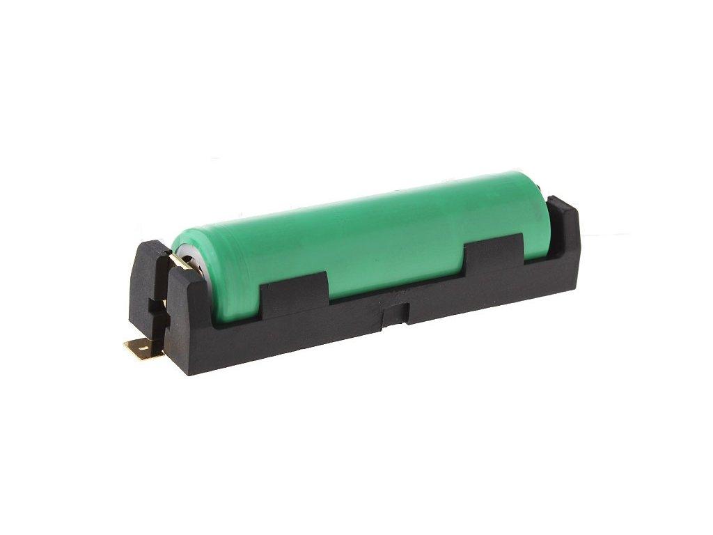 Bateriový box, držák 1 x 18650 s montáží SMD
