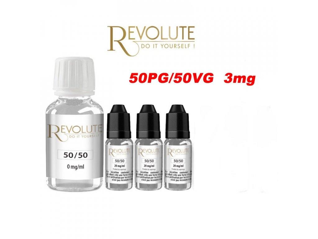 Revolute báze 50PG/50VG 3mg 200ml