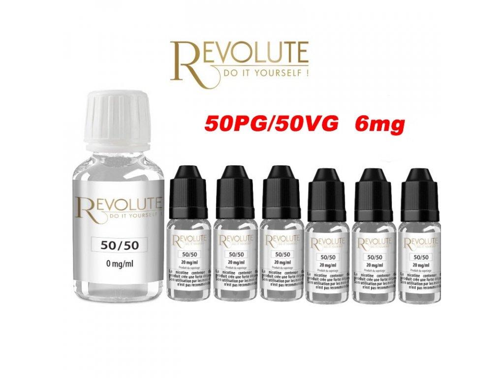 Revolute báze 50PG/50VG 6mg 200ml