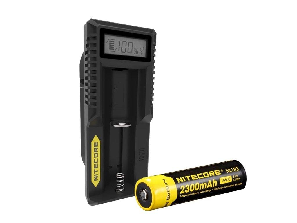 Nitecore Intellicharger UM10 LCD Li-ion nabíječka