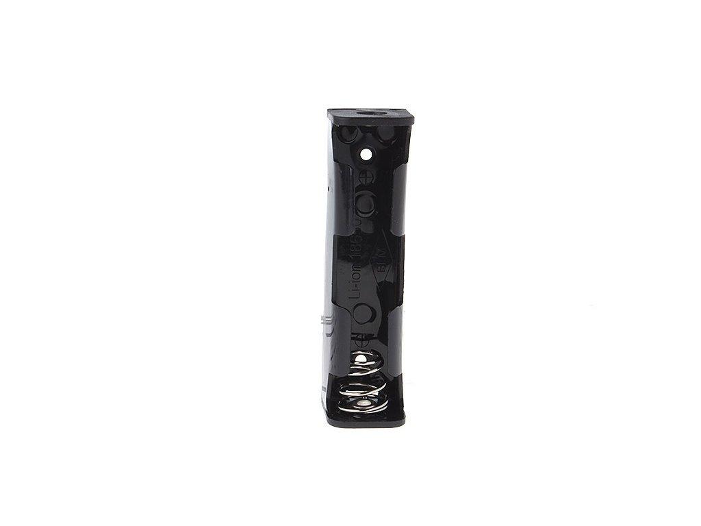 Bateriový box, držák 18650 včetně připojovacích kolíků