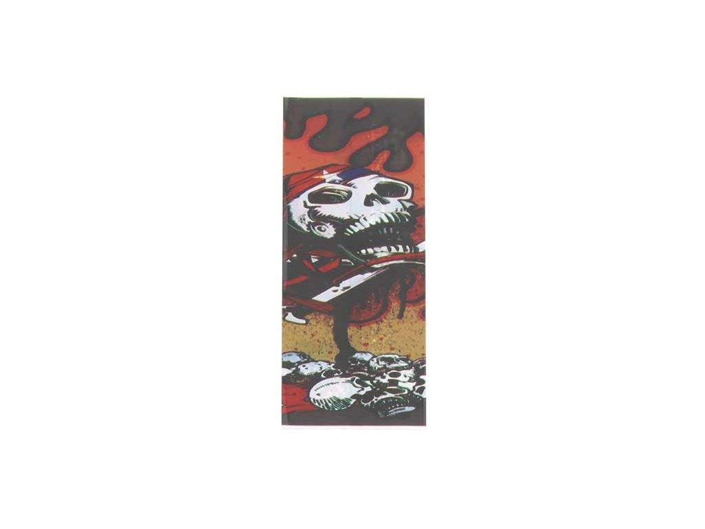 Smršťovací přebal 18650 Lebka