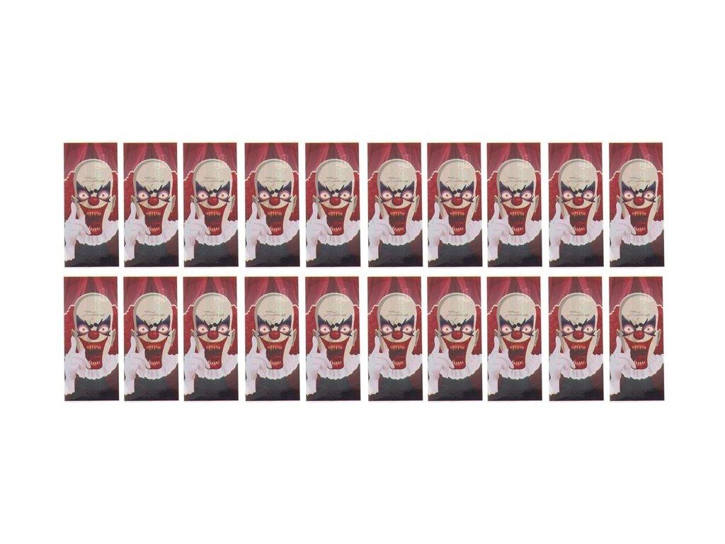 Smršťovací přebal 18650 Zombie klaun