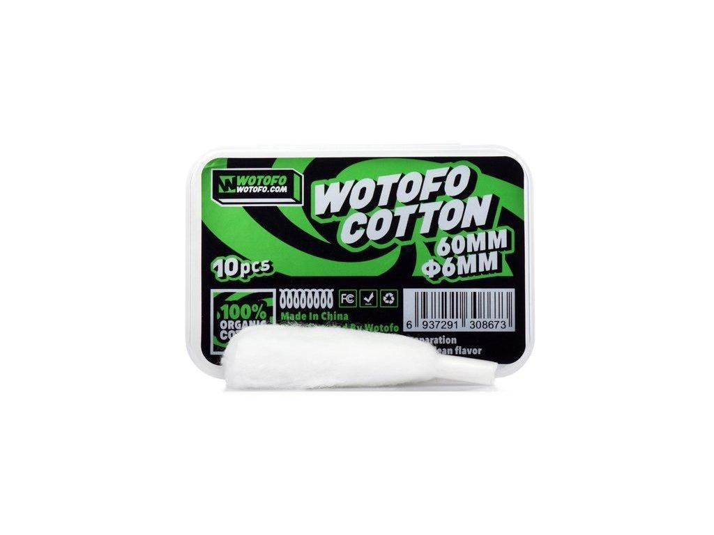 Wotofo Profile RDA organická bavlna (vata) 6mm 10ks