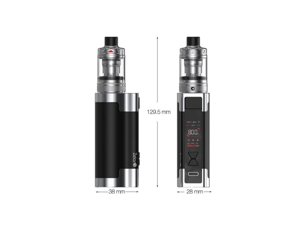 Aspire Nautilus GT TC75W grip Full Kit Silver