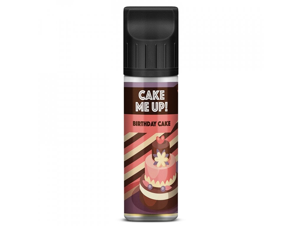 Cake Me Up - Shake & Vape - Birthday Cake 20ml (Graham, Lesní plody, Krém)