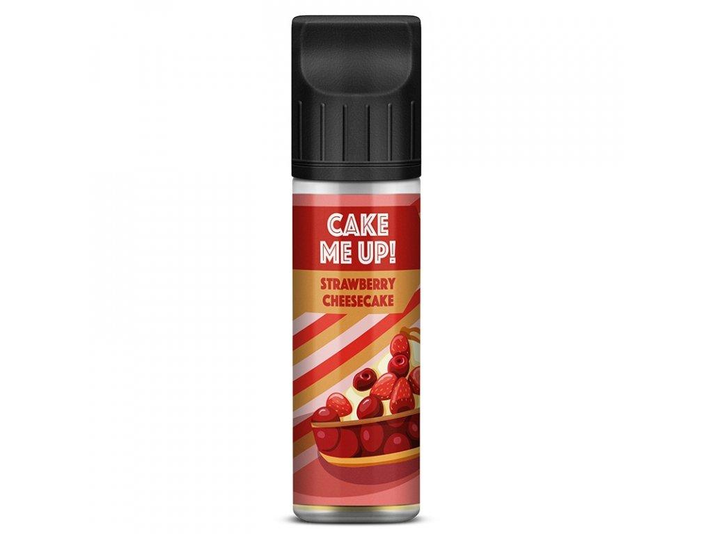 Cake Me Up - Shake & Vape - Strawberry Cheesecake 20ml (Jahoda, Koláč, Cheesecake)