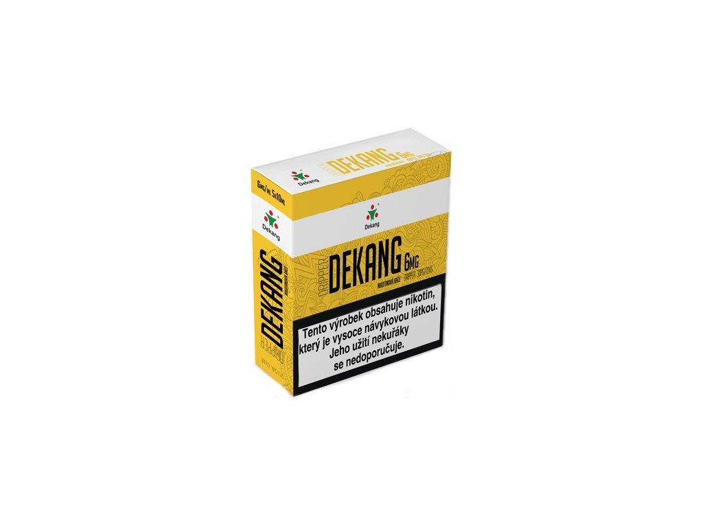 Dekang Dripper 5x10ml PG30/VG70 6mg