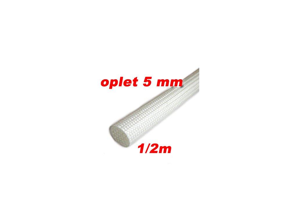 Sklokeramický oplet 5 mm