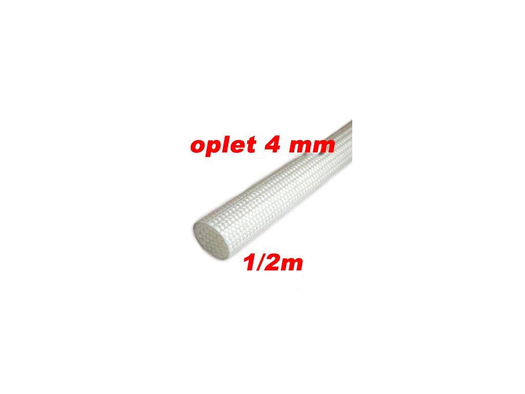 Sklokeramický oplet 4 mm