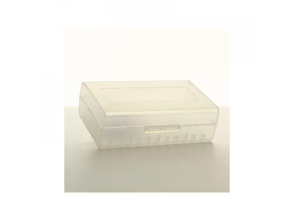 Pouzdro na baterie plastové 2x20700/21700