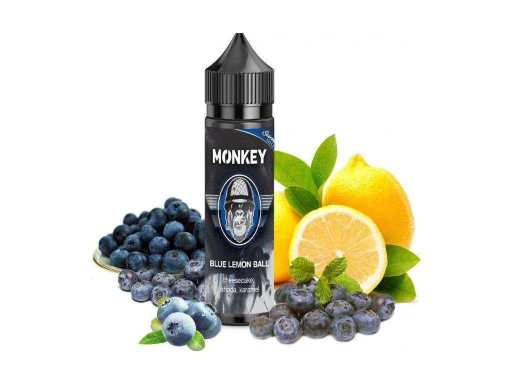 Monkey - Shake & Vape - Tropical Monkey (Mango, Citrusy, Chlad) 12ml