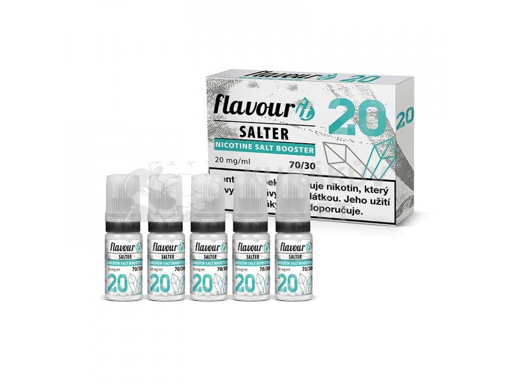 Flavourit Salter - 70/30 20mg, 5x10ml