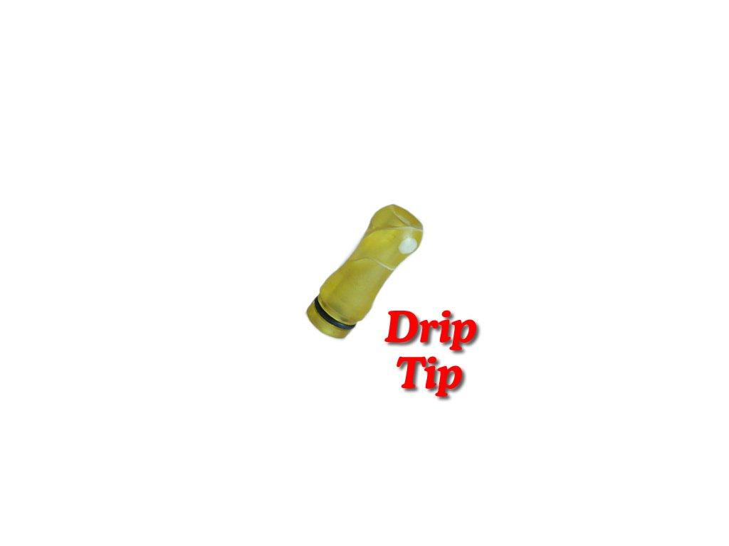 Drip Tip mramor plast 510